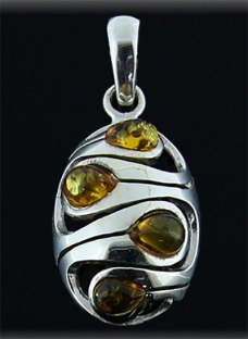 Colgante-plata-oval-3-piedras-ambar